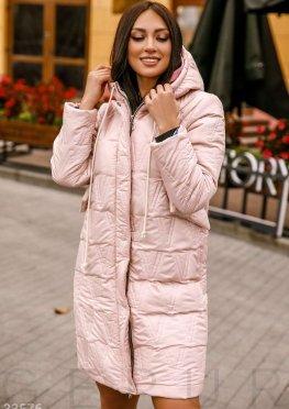 Куртка нежно-пудрового оттенка