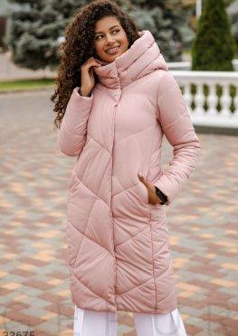Куртка пудрового оттенка