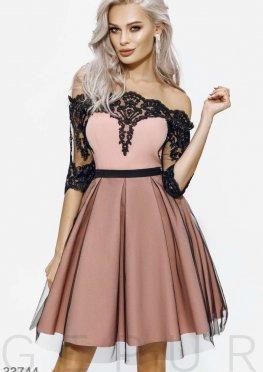 Изящное ажурное платье