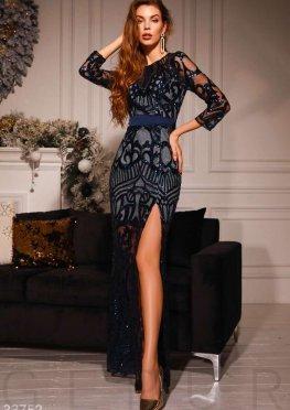 Стильное платье-макси