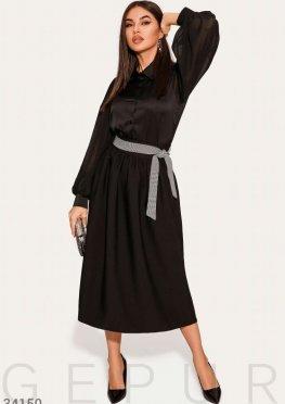 Классическая юбка черного цвета