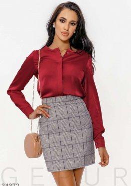 Шелковая женская блуза