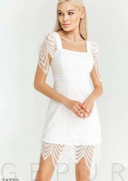 Кружевное платье Gepur