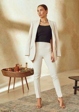 Базовые светлые брюки