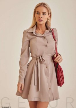Лаконичное платье-мини