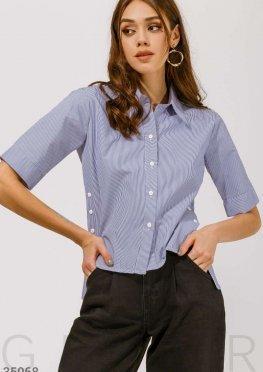 Блуза экспериментального кроя