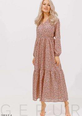 Легкое цветочное платье