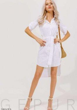 Рубашка-платье с открытой спинкой