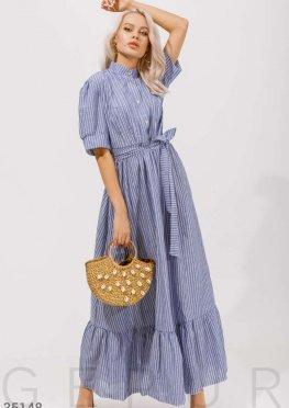 Платье oversize в полоску