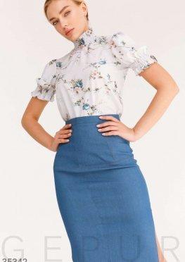Блуза из невесомой ткани