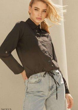 Свободная блуза из мягкого материала