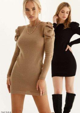 Лаконичное платье из мягкого трикотажа