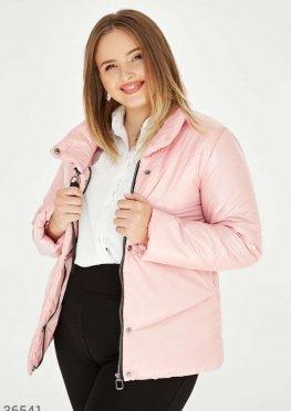 Мерцающая пудровая куртка
