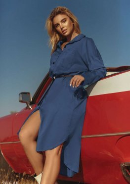 Oversize-платье в рубашечном стиле