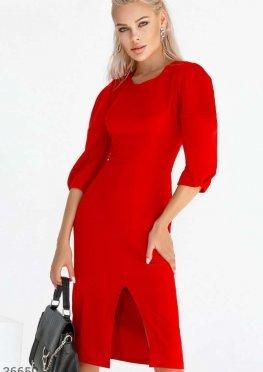 Лаконичное платье-футляр