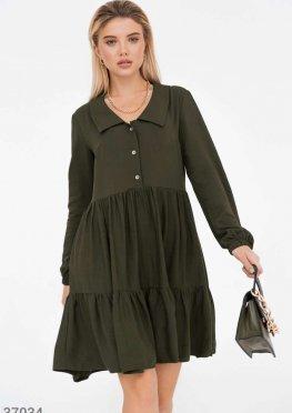 Oversize-платье цвета хаки