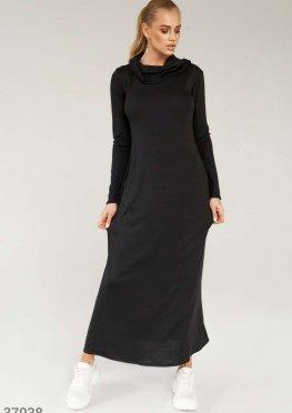 Длинное платье свободного кроя