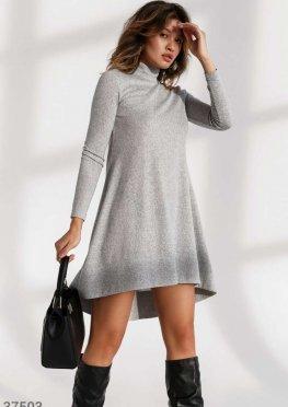 Ангоровое теплое платье