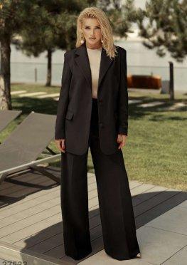 Базовый черный пиджак