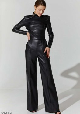 Эффектные брюки-палаццо