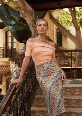 Ажурная юбка-миди