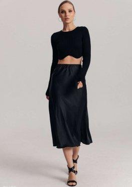 Базовая шелковая юбка
