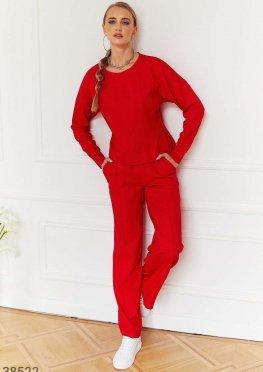Oversize-костюм из льна