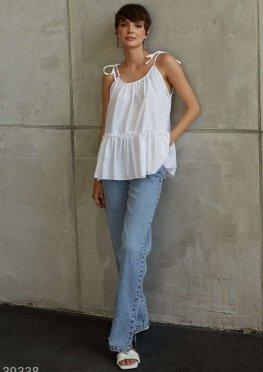 Летняя блуза на завязках