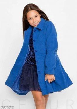 Яркое демисезонное пальто