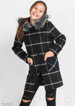 Демисезонное детское пальто