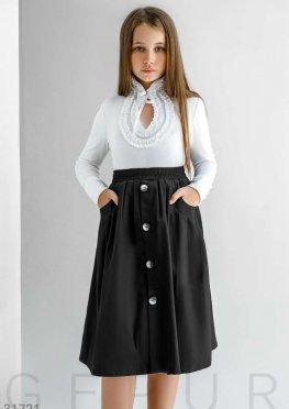 Детская юбка-полусолнце