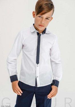 Классическая рубашка для мальчика