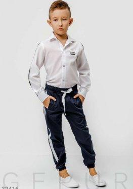 Школьные брюки-джоггеры