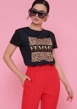 Леопард футболка Boy-2