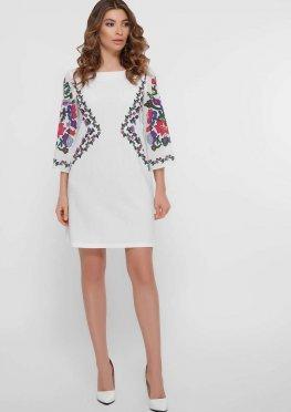 Цветочный орнамент платье Кирма д/р