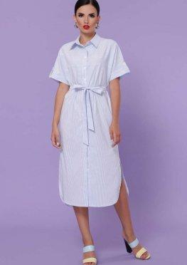 платье-рубашка Дарья-3 к/р