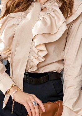 Блуза Арди бежевый