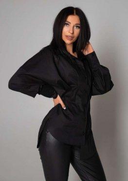 Блуза Бернарда черный