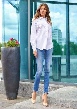 Блуза Бонита белый