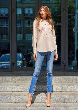 Блуза Бонита бежевый