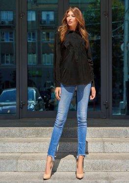 Блуза Бонита черный