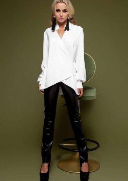 Блуза Гремми без ремня белый
