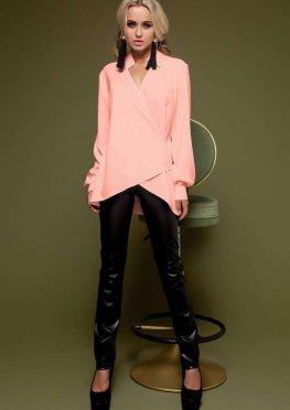 Блуза Гремми без ремня персиковый
