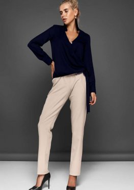 Блуза Изабель тёмно-синий