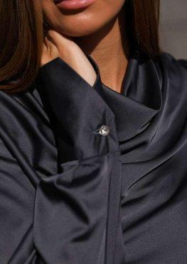 Блуза Камилла черный