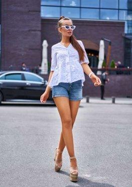 Блуза Кани белый