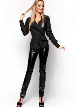 Блуза Карина черный