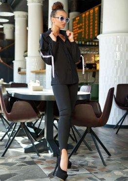 Блуза Леруа черный
