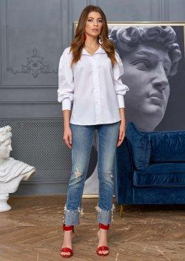 Блуза Рина белый