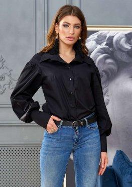 Блуза Рина черный